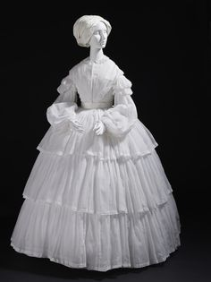 Woman's Dress | LACMA Collections Europe, circa 1855
