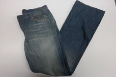 74.80$  Buy here - http://virit.justgood.pw/vig/item.php?t=vw3ckh856110 - $126 NWT Seven For All Mankind by Jerome Dahan Blue Jeans Size 30