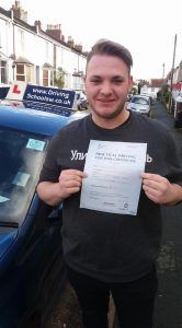 What a result …First time pass for Dan who has been having Driving Lessons in Torquay with The Driving School sw. Dan passed his Driving Test with just 5 driver faults, a great effort considering the frustrations of the Theory Test. Dan s Driving Instructor Darren who works for The Driving School sw said congratulations and a...