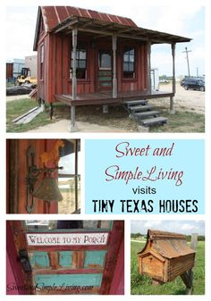Check Out These Tiny Houses At Tiny Texas Houses. Love Them!