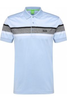 Hombre Polos - HUGO BOSS Polo de rayas slim fit en algodón puro: `Paule 5` Mens Polo T Shirts, Golf Shirts, Tee Shirts, Hugo Boos, Polo Outfit, Men's Polo, Sport Wear, Mens Clothing Styles, Men Dress