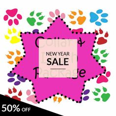 50% OFF on select products. Hurry, sale ending soon!  Check out our discounted products now: https://www.etsy.com/shop/katiesk9kollars?utm_source=Pinterest&utm_medium=Orangetwig_Marketing&utm_campaign=12%2F31-1%2F1%2F17