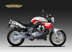 MOTO GUZZI V 12 SPEEDSCRAMBLER by obiboi Moto Guzzi Motorcycles, Scrambler Motorcycle, Cool Motorcycles, Motorcross Bike, Super 4, Cool Bikes, Motorbikes, Cycling, Behance