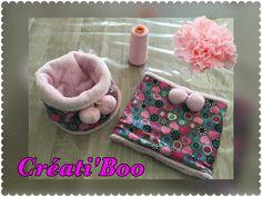 Lot de 2 snoods - 6/12 mois - Snood - cache cou - écharpe : Mode Bébé par creati-boo