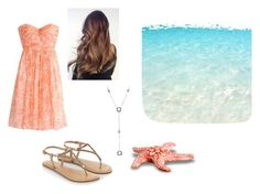 """Day at the Beach"" by hirstd ❤ liked on Polyvore featuring J.Crew, Accessorize and Tiffany & Co."