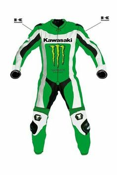 Motor Bike Racing Leather Suit