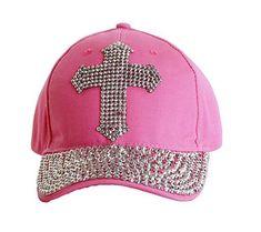 Bling Rhinestone Cross Embellished Baseball Cap Adjustable. Mark Hua · bling  baseball denim rhinestone caps · Vinatge Denim Baseball Hat Silver ... 4a8472d5ff46