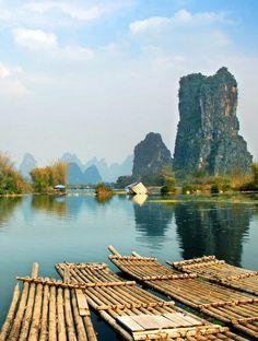 Yangshuo County, Guangxi Province, China   #holidayspots4u