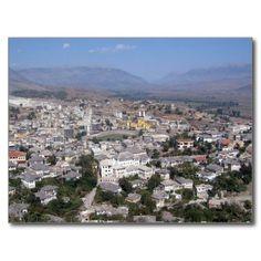 Postcard Gjirokastra in Southern Albania Carte Postale