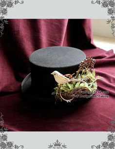 fanplusfriend - NEW RELEASED OFFER: Beyond the End of Time, Steampunk Dandy Bird Nest & Gear Deco Top Hat (http://www.fanplusfriend.com/new-released-offer-beyond-the-end-of-time-steampunk-dandy-bird-nest-gear-deco-top-hat/)