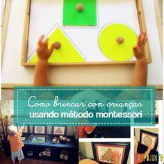 Aprenda a desenvolver ideias no metodo montessori com formas geométricas!