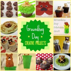 groundhog day creative foods and crafts