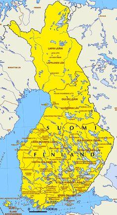 Finland ~ Land of The Midnight Sun Finnish Recipes, Finland Travel, Midnight Sun, Old Maps, Crests, Summer Travel, Helsinki, Orange, Yellow