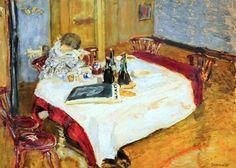 Pierre Bonnard - Luncheon Table, 1900