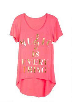 Music Is Everything Tee - Tops - Clothing - dELiA*s