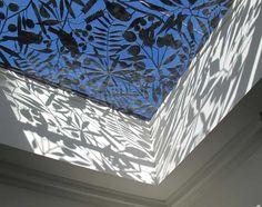 Martin Hodge Skylight shade screen project 2010