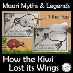 This is a fun activity for your students that you can use after reading the story: How the Kiwi Lost its Wings. This activity is suitable for any retelling of the story. Colour the kiwi, write/draw in the body templates and staple them together.