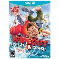 """Wipeout Create & Crash for Nintendo Wii - Activision - Toys """"R"""" Us Game Creator, 3d Mode, Video Game Collection, Xbox 360 Games, Kids Store, Nintendo Ds, Wii U, Cool Things To Buy, Create"""