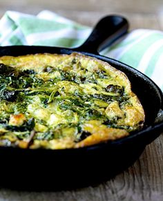 Make Ahead Kale and Feta Frittata | Blog | Healthy Aperture