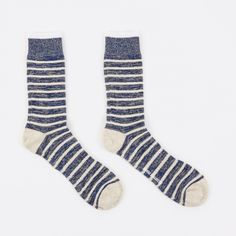 Bjarki Classic Normandy Sock - Cornflower Blue