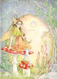 Celtic Amanita Fairy by Suzanne Gyseman Celtic Art, Faeries, Fairy Tales, Cake Competition, Princess Zelda, Mouths, Gallery, Drawings, Artwork