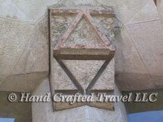 Travel Picture: Day 149. I am the Alpha and the Omega, Sagrada Familia church, Barcelona, Spain.