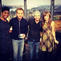 From the new movie The Motel Life, stars Stephen Dorff and Emile Hirsch stop by New York Live