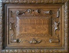 I came across these door panels while doing some research in the New York Public Library. I rarely get asked to create trompe l'oeil boise...