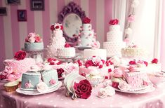 inkxlenses:Vintage Pink Tea Party |  Sonia Collett http://ift.tt/2DBOdnv
