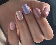 How to choose the shape of nails? - My Nails Perfect Nails, Gorgeous Nails, Vernis Rose Gold, Stylish Nails, Trendy Nails, Diy Nails, Cute Nails, Manicure Ideas, Nail Ideas