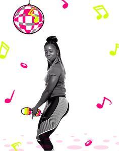 dance running disco nike happy dance jamaica maracas shelly-ann fraser-pryce #humor #hilarious #funny #lol #rofl #lmao #memes #cute