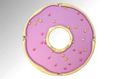 Donut-shaped Pool Table by designer Cléon Daniel is a fun addition to any recreational room. Homer Simpson Donuts, Simpsons Donut, Outdoor Pool Table, Funny Furniture, Unusual Furniture, Furniture Ideas, Pool Rules, Pool Signs, Winter Olympic Games