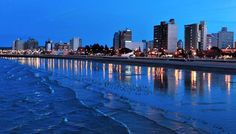 The city of Puerto Madryn - Patagonia, Argentina Patagonia, Places To Travel, Places To Go, Argentina Travel, Adventure Tours, San Francisco Skyline, South America, Places Ive Been, New York Skyline