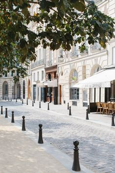 Place Dauphine | Paris, France. I was there last September, and just seeing photos makes me misty.