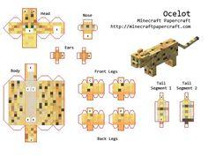 papercraft minecraft animales - Buscar con Google