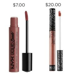 You literally can't tell the difference so why spend the extra $13.00? NYX Soft-Spoken > Kat Von D Lolita II.