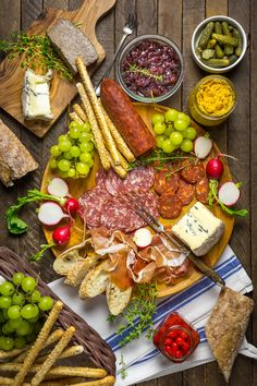 How to put together a perfect charcuterie board - Nerds with Knives
