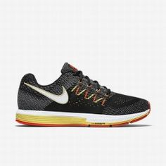 4b73c3dc4b701 Nike Men s Black Sail Total Crimson White Air Zoom Vomero 10 Running Shoe