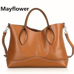 New 2014 fashion 100% genuine leather handbags totes designs shoulder bags  women messenger bags bolsas femininas 02205698b2c1a