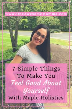 Interested to find out what 7 simple things you can do to make you feel good about yourself? Click the image to learn more about it and also to read more about Maple Holistic's Winter Blend Shampoo.