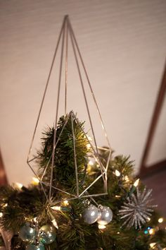 Tree Topper by SpazzHappyLineDesign on Etsy
