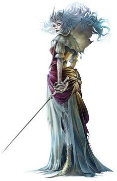 Character Art by Eva Widermann, via Behance