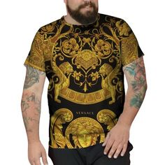 ee3f0b2ba Camiseta Plus Size Versace Swag Hypebeast Street Trap Lv Sp  versace   versacedogs  versaceperfumes