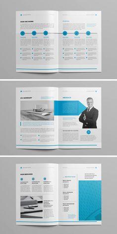 24 Pages - - Clean & Professional Annual Report Design. 24 Pages. One Pager Design, Page Layout Design, Graphic Design Layouts, Design 24, Report Design Template, Booklet Design, Corporate Brochure Design, Brochure Layout, Annual Report Layout