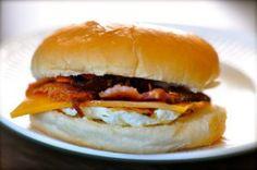 Knockoff Whataburger Breakfast on a Bun | AllFreeCopycatRecipes.com