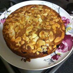 Raspberry and almond cake!