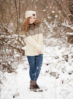 Winter Senior Picture ideas