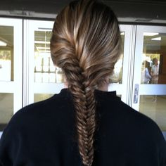 Another French fishtail