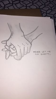 Couple Drawings Hand Drawings Love Drawings Pencil Drawings Drawings With Meaning Holding Hands Drawing Relationship Drawings Sketch Ideas For Beginners Hold Hands Sad Drawings, Tumblr Drawings, Pencil Art Drawings, Art Drawings Sketches, Drawing Quotes, Art Journal Inspiration, Art Sketchbook, Doodle Art, Love Art