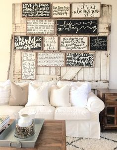 to do... a wall of favorite words . quotes . saying . Spring Mini Collection by HouseofBelongingLLC on Etsy
